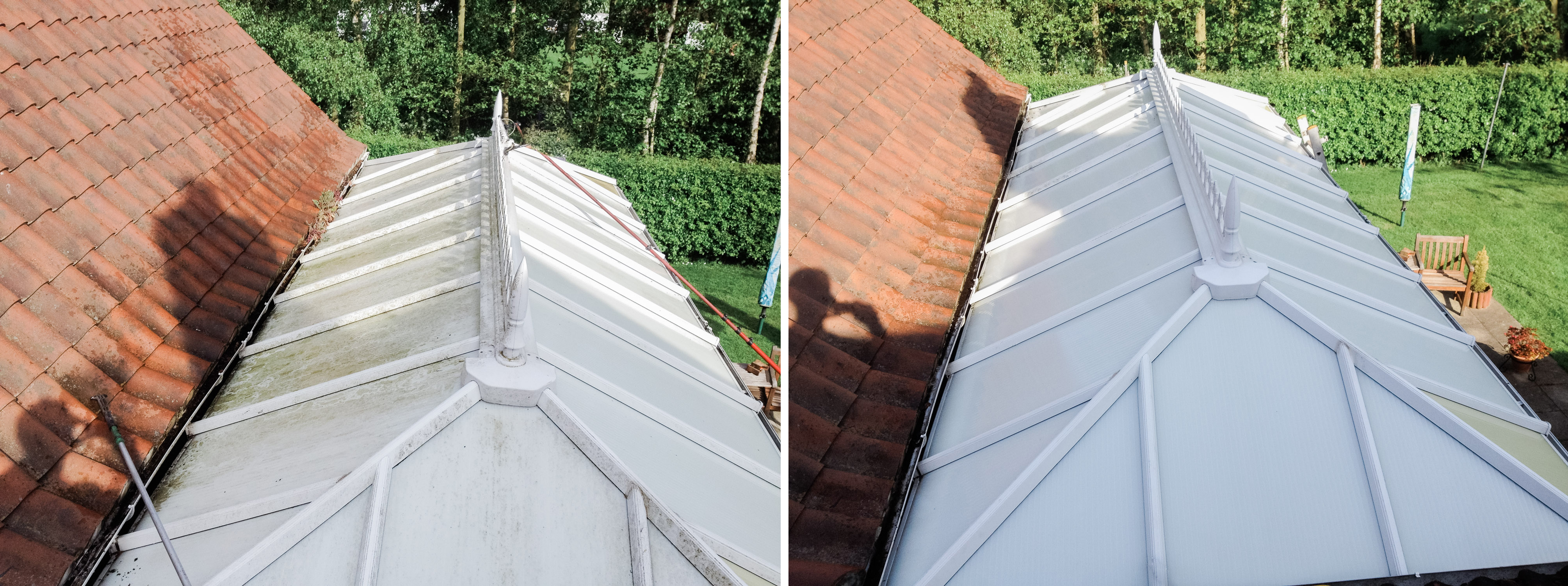 Conservatory Roof Cleaning Services In Yorkshire Facias